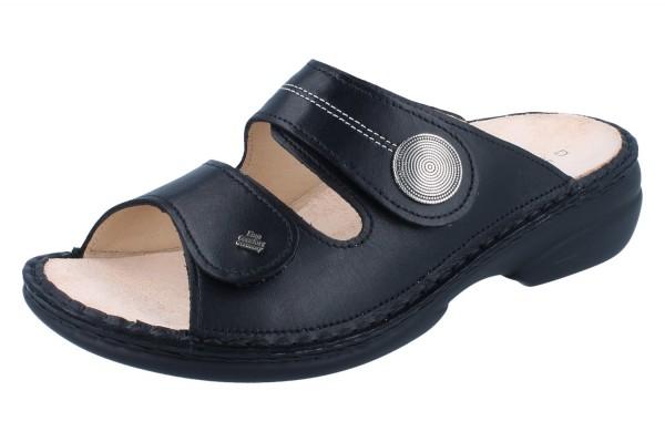 FINN COMFORT Sansibar Damen Pantolette schwarz/NappaSeda