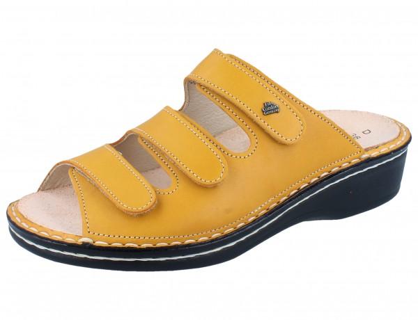 FINN COMFORT Pisa Damen Pantolette gelb sole/Savanna