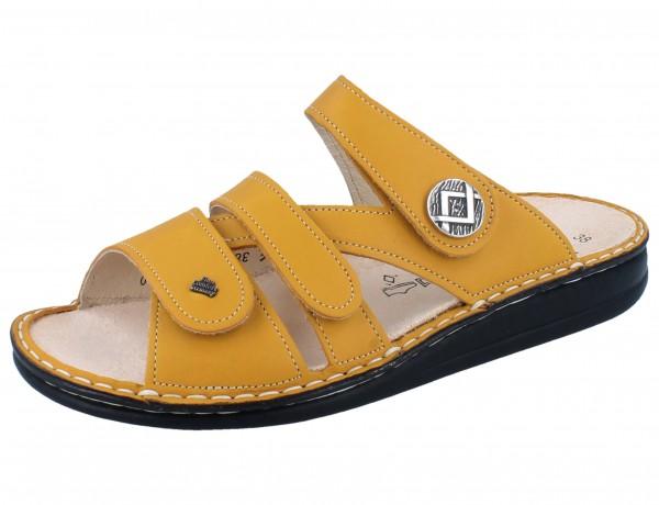 FINN COMFORT Agueda Damen Pantoletten gelb sole/Savanna