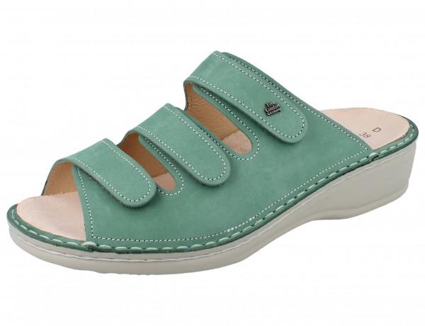 FINN COMFORT Pisa Damen Pantolette grün mint/Fenell
