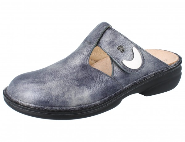 FINN COMFORT Belem Damen Clogs grau grey/Alfa