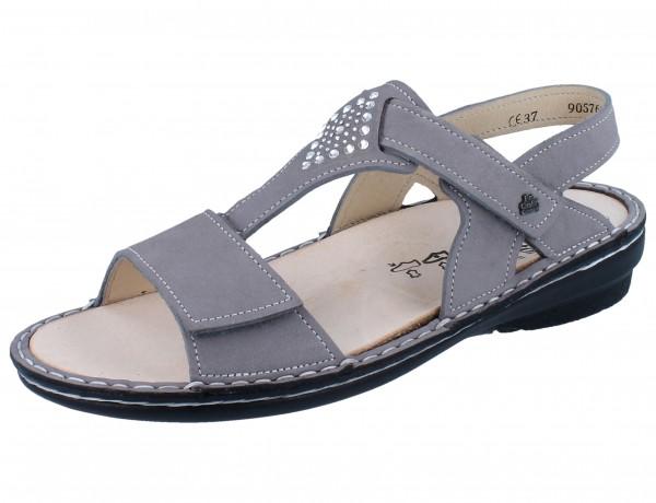 FINN COMFORT Calvia Damen Sandale grau mouse/NubukSoft