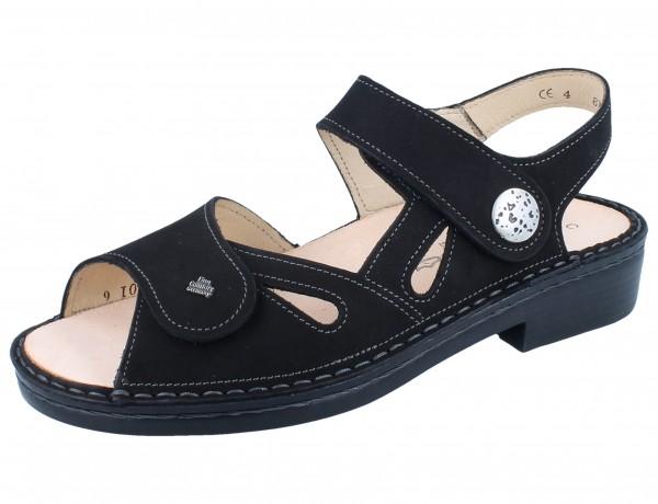 FINN COMFORT Costa Damen Sandale schwarz/Buggy