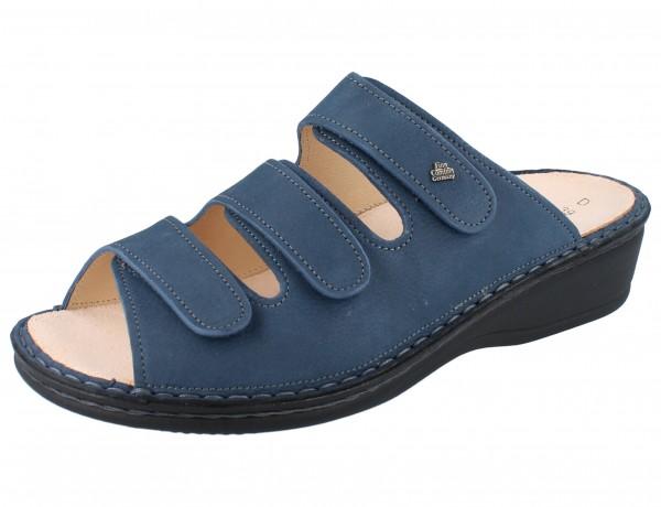 FINN COMFORT Pisa Damen Pantolette blau horizon/NubukVienna