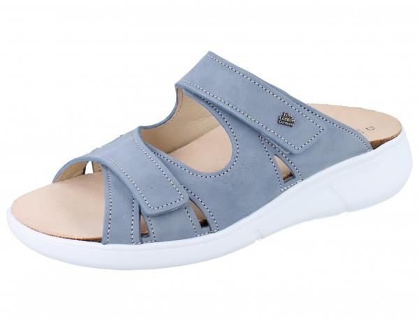 FINN COMFORT Palau Damen Pantolette blau lightblue/Nubuk